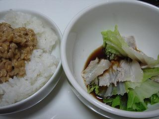 豚バラと白菜の重ね鍋 _c0025217_143142.jpg