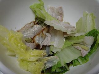 豚バラと白菜の重ね鍋 _c0025217_1432074.jpg