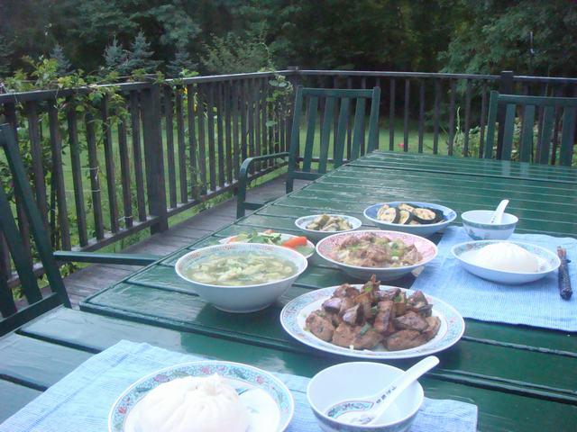 夏野菜で中華晩餐に万歳!_d0100880_2018455.jpg