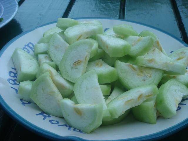 夏野菜で中華晩餐に万歳!_d0100880_2091716.jpg