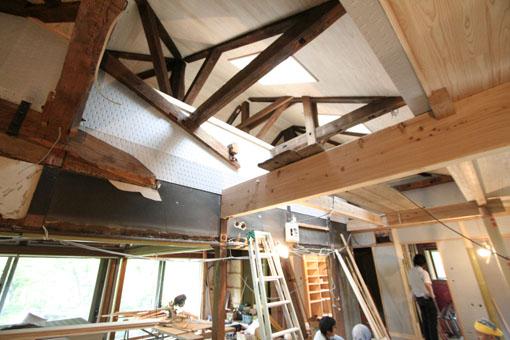 断熱・耐震改修の本荘の家:内装工事_e0054299_14273744.jpg