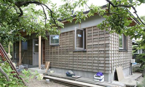 断熱・耐震改修の本荘の家:内装工事_e0054299_1427949.jpg