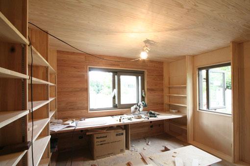 断熱・耐震改修の本荘の家:内装工事_e0054299_1428482.jpg