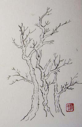 『芥子園画伝』 樹法②_c0160745_19584951.jpg