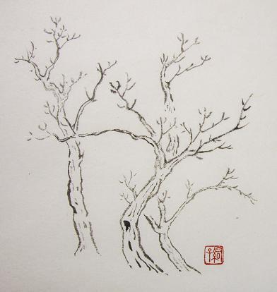 『芥子園画伝』 樹法②_c0160745_1959586.jpg
