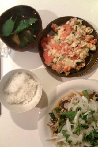 『夕食パーリー』_e0143270_21453017.jpg