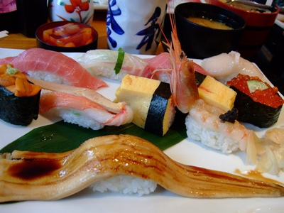 メインのお寿司