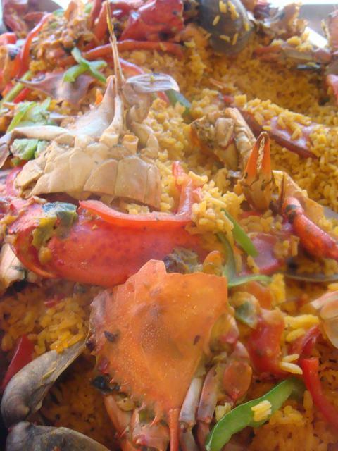 カニ料理のBOCA CHICA @ HAREM_d0100880_11244982.jpg
