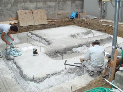 地業工事完了 _b0152601_17523871.jpg