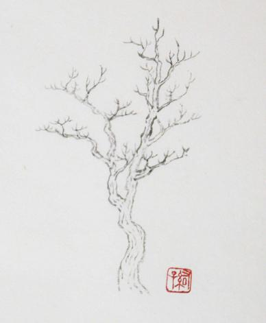 『芥子園画伝』 樹法④_c0160745_19431351.jpg