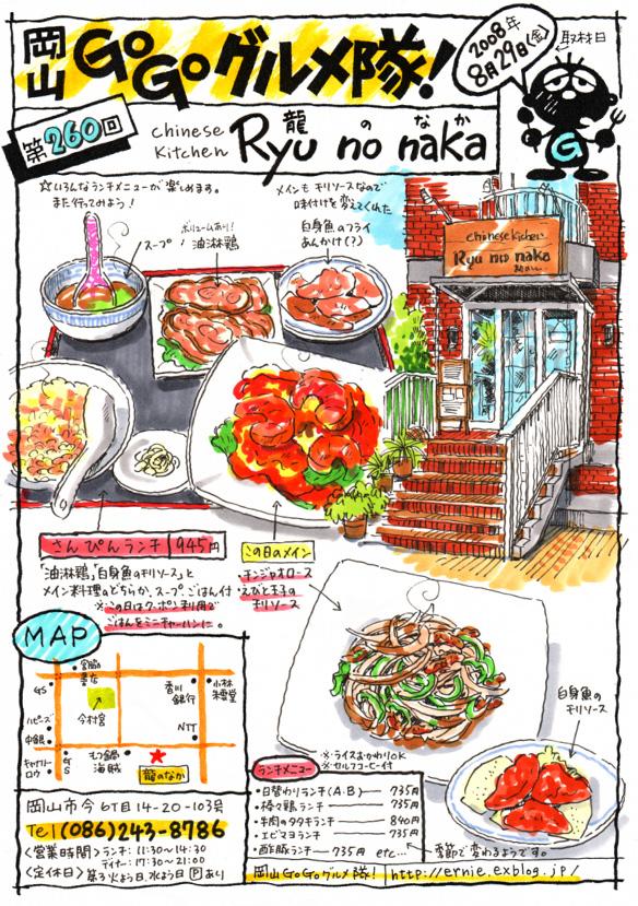 Chinese Kitchen ー Ryu no naka (龍のなか)_d0118987_1550519.jpg