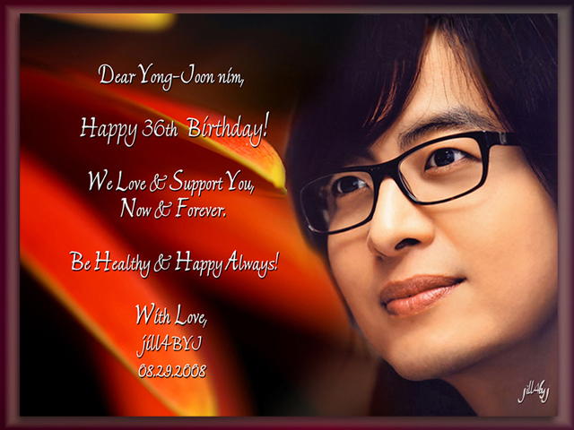 ヨン様~!36歳のお誕生日!おめでとうございます~!_d0060693_718406.jpg