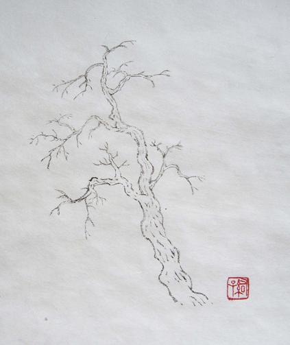 『芥子園画伝』 樹法⑤_c0160745_13292280.jpg