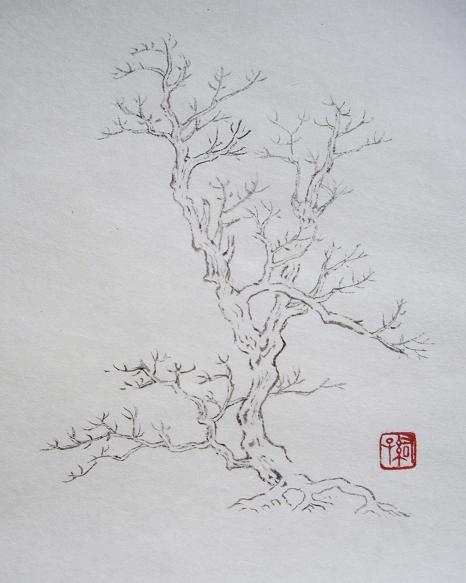 『芥子園画伝』 樹法⑥_c0160745_13431232.jpg
