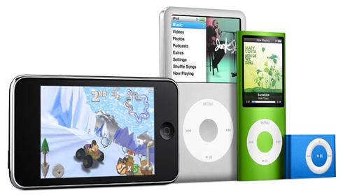 新iPodファミリー