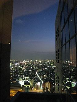 7月 パークハイアット東京 部屋からの夜景_a0055835_16393274.jpg