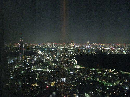 7月 パークハイアット東京 部屋からの夜景_a0055835_16572036.jpg