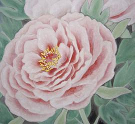 『洛陽花』 制作過程②_c0160745_19522829.jpg