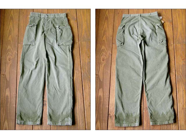 orslow/オアスロウ herring bone 2pocket pants_f0051306_18382412.jpg
