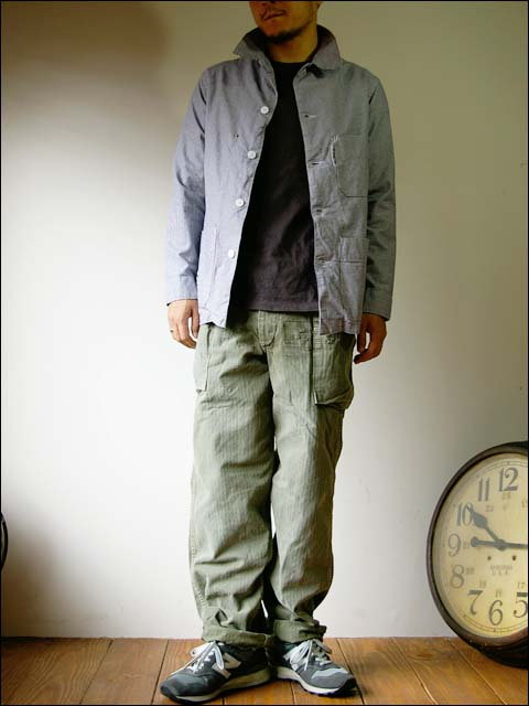 orslow/オアスロウ herring bone 2pocket pants_f0051306_18383340.jpg