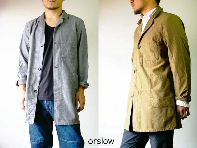 orslow/オアスロウ shop coat/ショップコート_f0051306_2001421.jpg