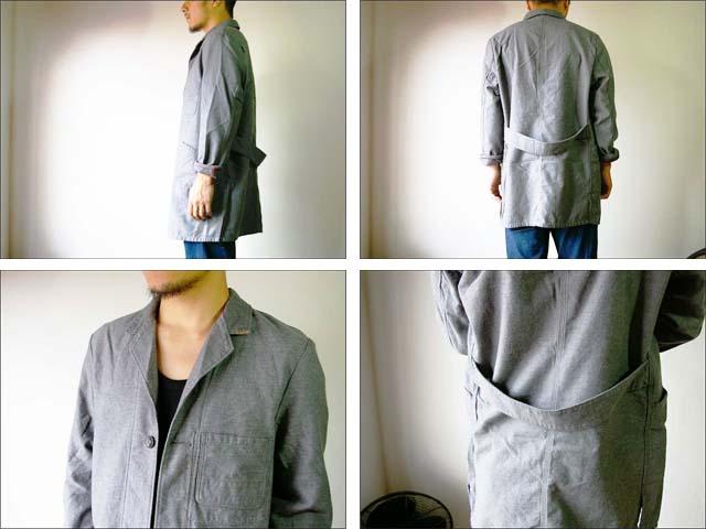 orslow/オアスロウ shop coat/ショップコート_f0051306_201084.jpg