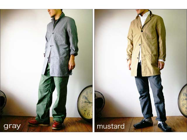 orslow/オアスロウ shop coat/ショップコート_f0051306_2012674.jpg