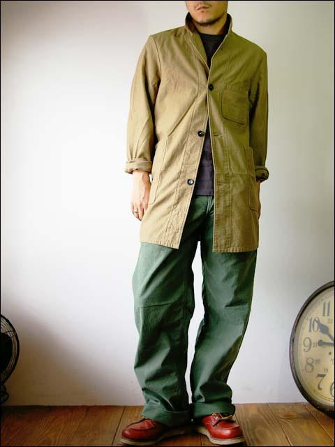 orslow/オアスロウ shop coat/ショップコート_f0051306_201369.jpg