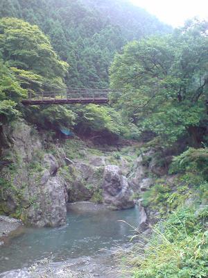 滝を越えて一心亭に蕎麦を食べに行く SOBA at Okutama valley_c0030645_22241064.jpg