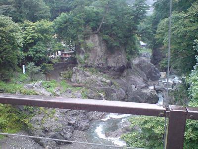 滝を越えて一心亭に蕎麦を食べに行く SOBA at Okutama valley_c0030645_2225057.jpg