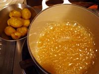 初物の栗で甘露煮を作る_c0110869_9443285.jpg