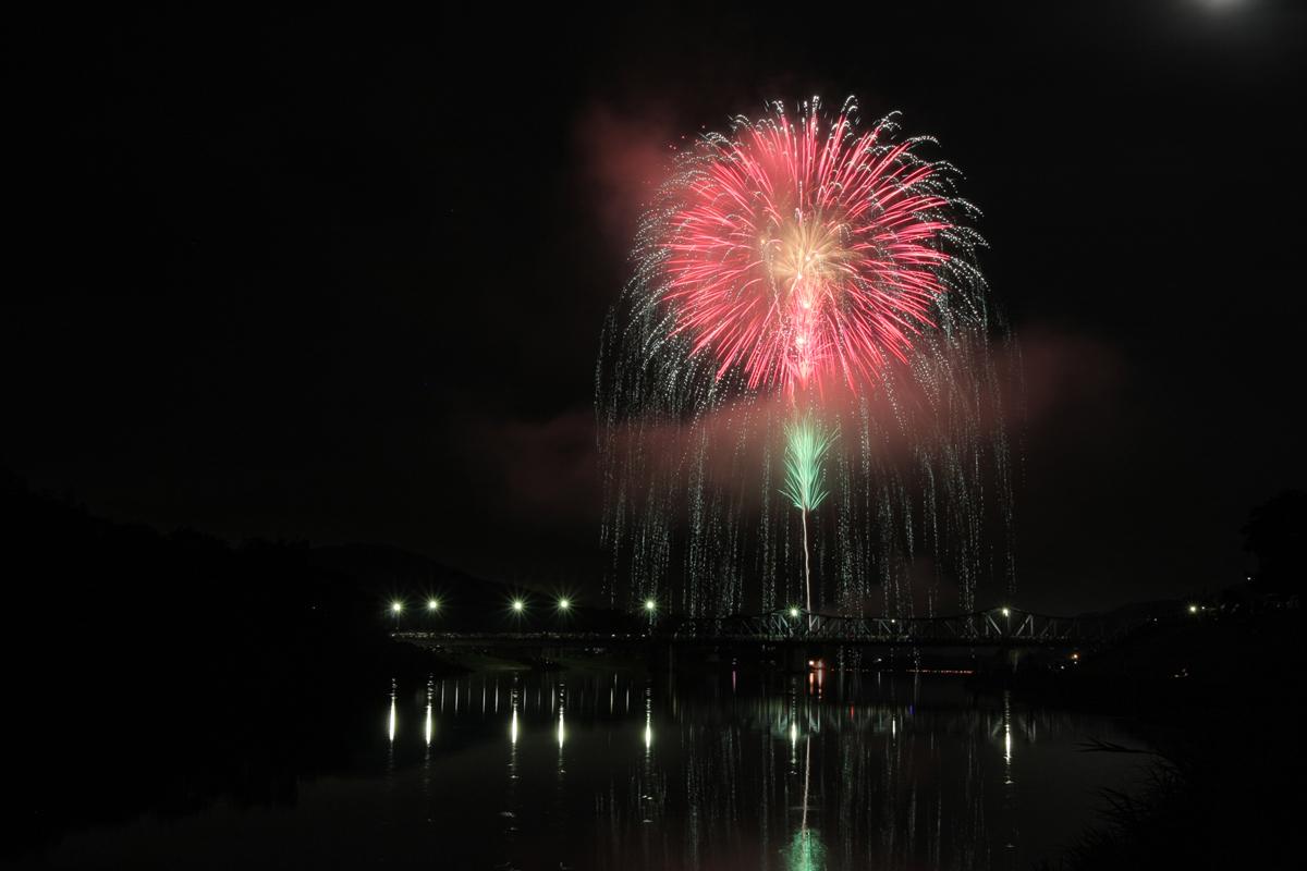 南丹市やぎの花火大会  2_f0021869_12221540.jpg