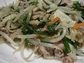 肉野菜炒め_c0025217_8421676.jpg