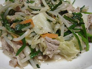 肉野菜炒め_c0025217_8422334.jpg