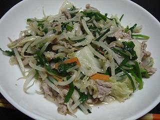 肉野菜炒め_c0025217_842760.jpg