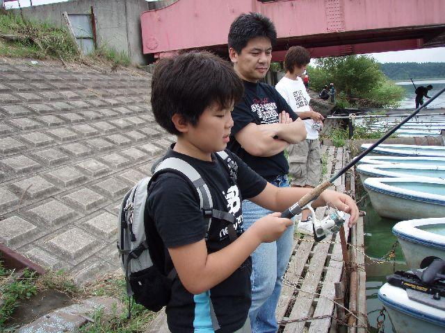 夏休み子供釣り体験教室のご報告_f0162462_7301035.jpg