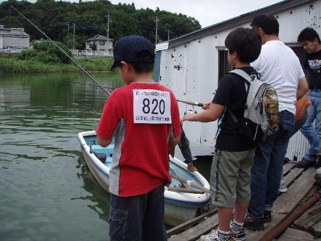 夏休み子供釣り体験教室のご報告_f0162462_731341.jpg
