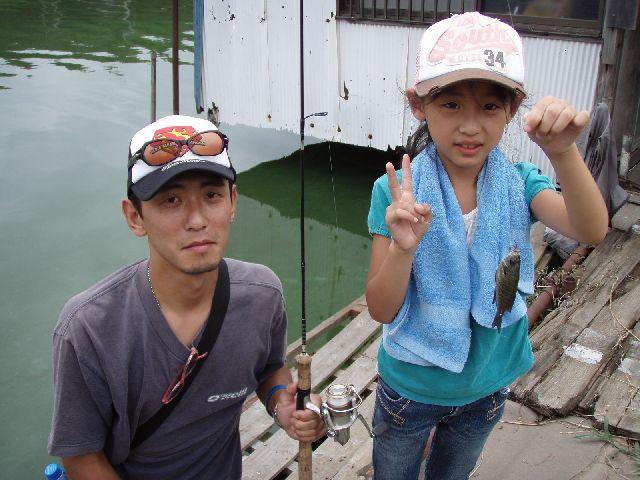 夏休み子供釣り体験教室のご報告_f0162462_737475.jpg
