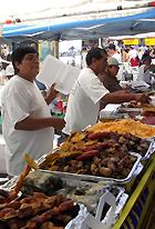 ブラジルのお祭りで食べたブラジルの家庭料理(正式名称は不明)_b0007805_12353636.jpg