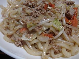 肉野菜焼きうどん_c0025217_853179.jpg