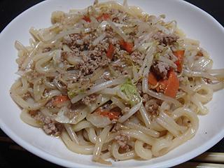肉野菜焼きうどん_c0025217_853919.jpg