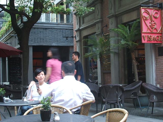 上海美人に見とれるだけ!_f0054720_2334481.jpg