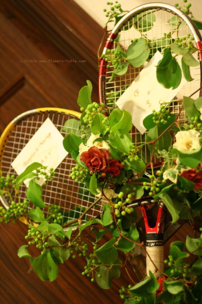 ウエルカムボード テニスラケット 如水会館様へ_a0042928_22281442.jpg