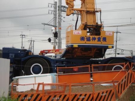 橋梁架設工事の相伴を行いました。_f0110349_19101115.jpg