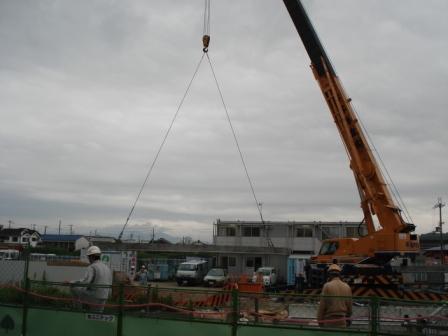橋梁架設工事の相伴を行いました。_f0110349_19123810.jpg