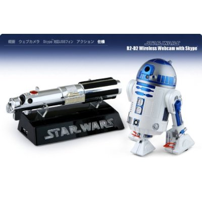 STAR WARS : R2-D2 Wireless Web Camera with Skype_f0011179_3573822.jpg