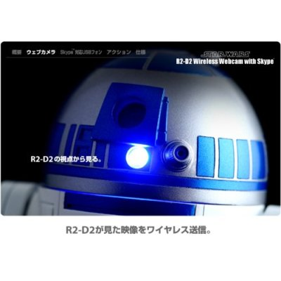 STAR WARS : R2-D2 Wireless Web Camera with Skype_f0011179_358236.jpg