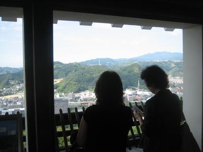 松山城見学_f0148649_2365485.jpg