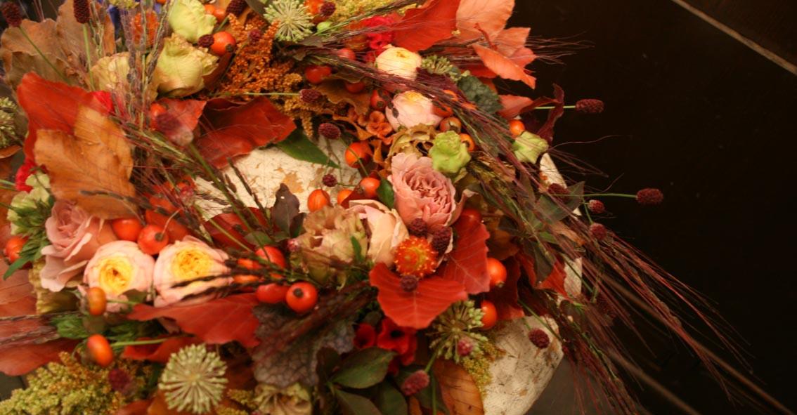 秋の花のリース_d0005824_20115758.jpg