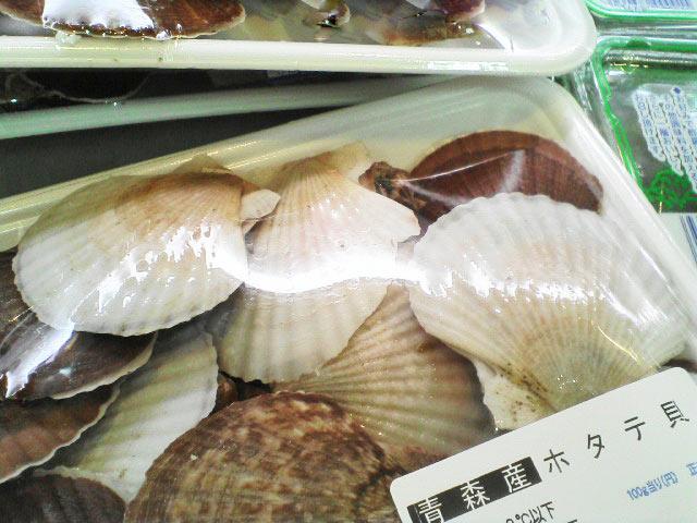 帆立稚貝の味噌汁とラーメン_a0016730_22594965.jpg